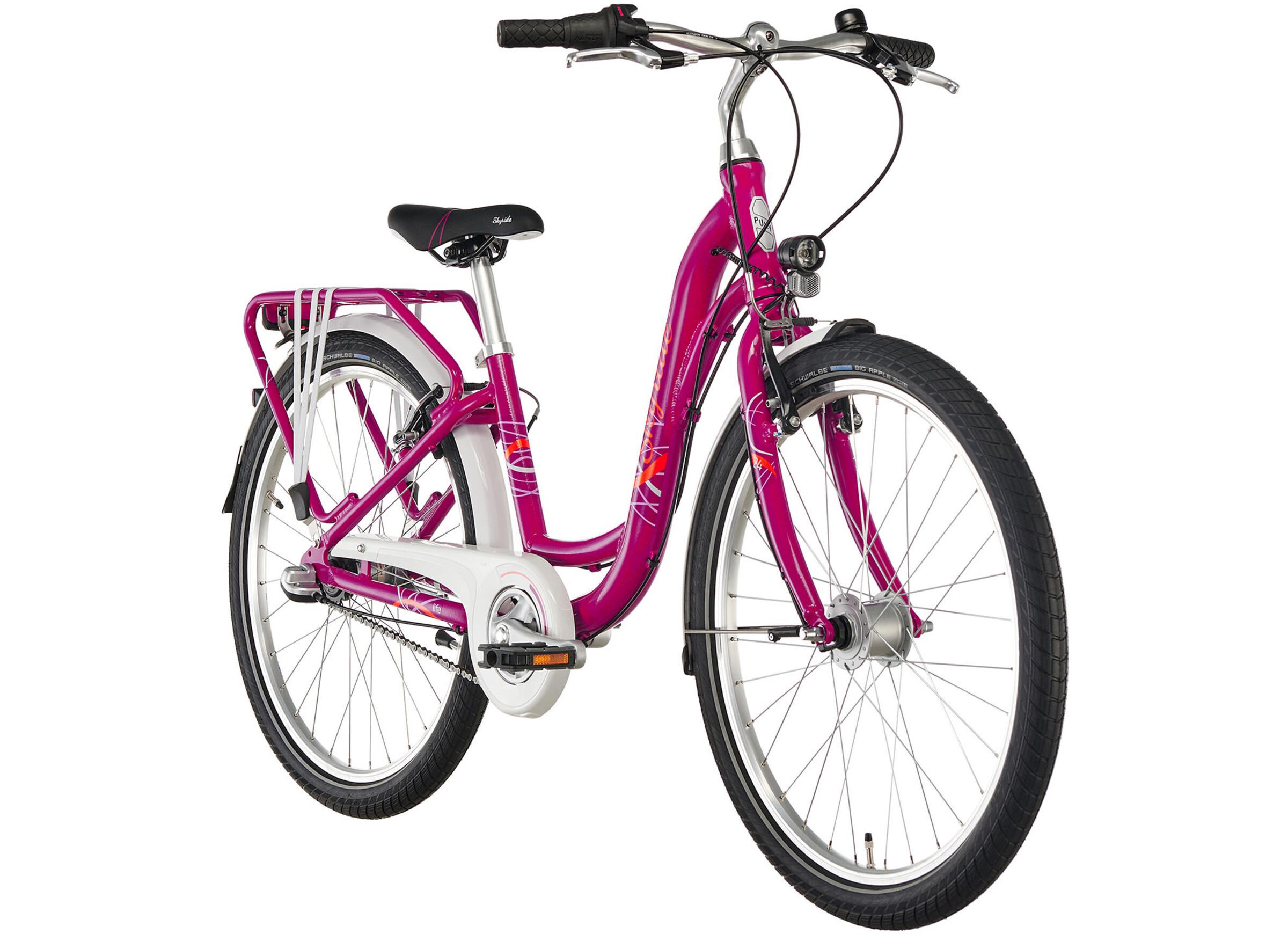 puky skyride light 24 fahrrad 3 gang m dchen berry online bei. Black Bedroom Furniture Sets. Home Design Ideas